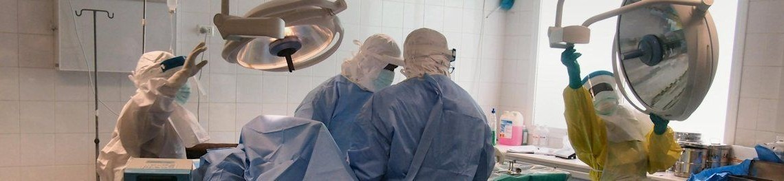 Operation in Ebola-effected Monrovia