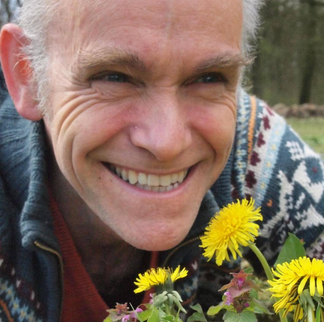 Jan Huijs enjoying spring time