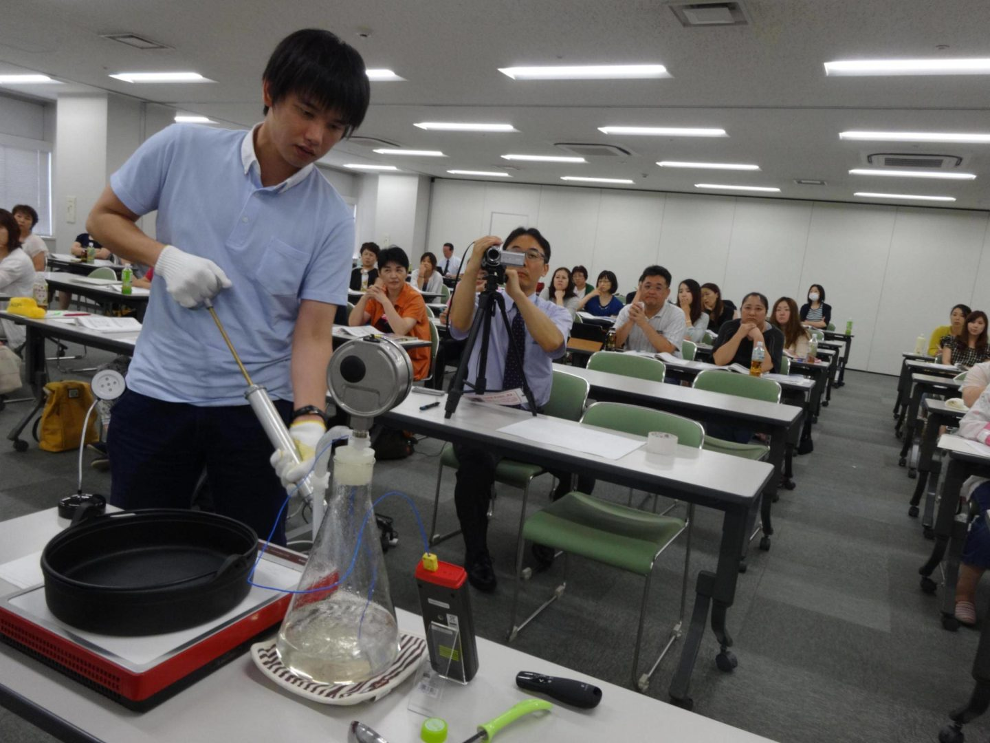 J-Miyasaki Miyanichi Kaikan 201508002 Meilleur Presentation Jan Steam Properties Pumping. Workshop on steam sterilization. Made possible through Meilleur.