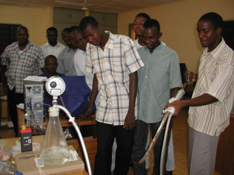 BF-Ouagadougou MS DGIEM 20080520 Formation Sterilisation Principe de Sechage Par Un Vide