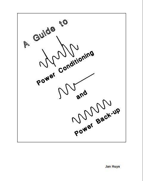 CH-BaselBaslerMission19950630BookAGuideToPowerconditioningAndPowerBackupJanHuijsManuscriptCover