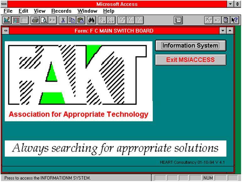 D-StuttgartFAKT19941001FAKTInformationSystemV4s1StartupScreen