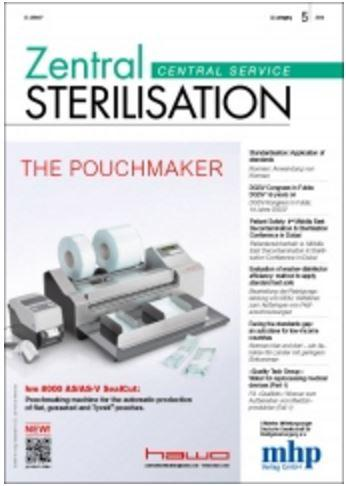 Article: Zentral Sterilisation 2014-5 Cover