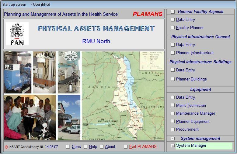 MWI-LilongweMoH20060314PLAMASStartupscreenV5s2b18
