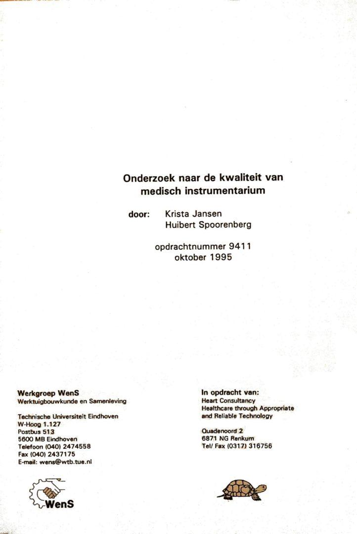 NL-Eindhoven TU 11951001 WENS Onderzoek Kwaliteit Instrumentarium Emerging Economies