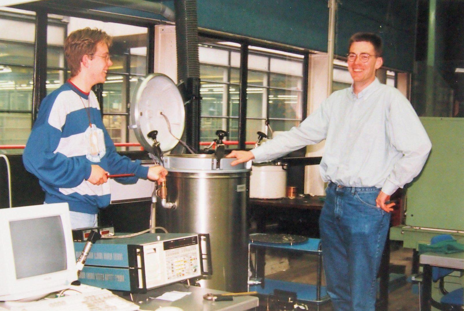NL-Eindhoven TU 19940419 Test Site Research Sterizer Process Webeco Model C End Presentation By Edwin Loenen