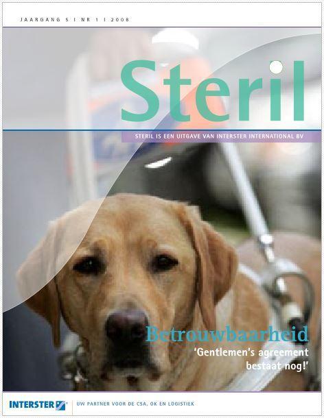 Artikel: Steril 2008-1 Omslag