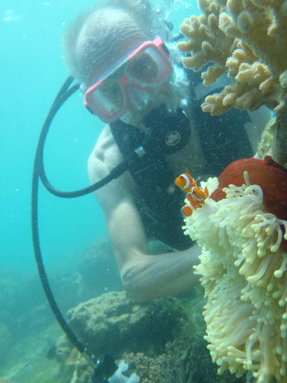 PJ Davao Samal 20100816 Paradise Island Dive Jan With Sea Anemone Fish 2PJ Davao Samal 20100816 Paradise Island Dive Jan With Sea Anemone Fish 2