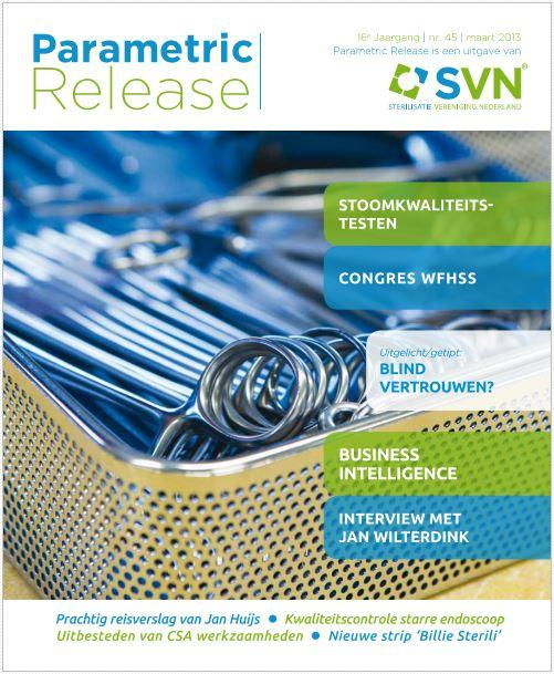Artikel: SVN Parametric Release 2013-03-R45 Omslag. WFHSS Japan