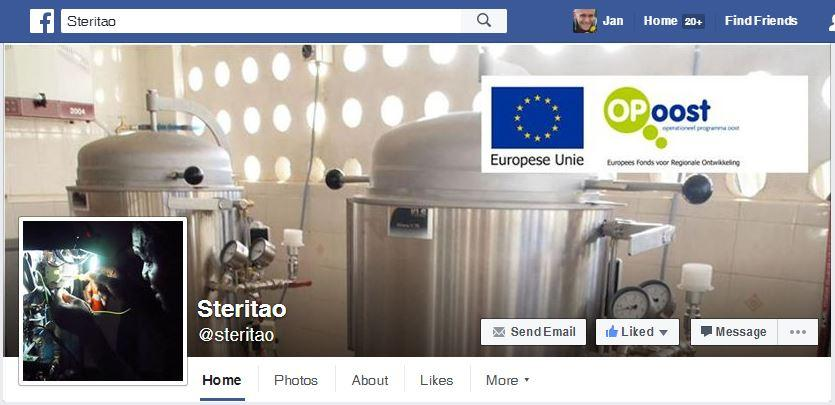 NL-Renkum SteriTao 20160707 Facebook Home Page for SteriTao Autoclave